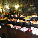 royal service breakfast buffet (this is only 1/3 of it)