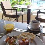 breakfast at Palazzo