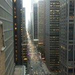 View down 6th Ave from Wawick Patio 25th floor