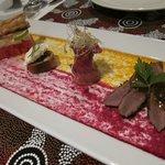 Desert, tasting platter
