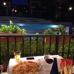 A perfect table at a perfect place. There are new owners and we got very best pizza great servic
