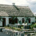 An Fear Gorta in 1986 w/thatched roof