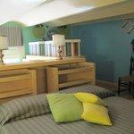 Bedroom in loft area