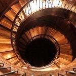 The silo staircase
