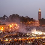 Djemaa lefna square in marrakech