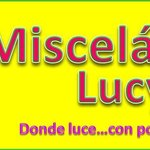Logo of Miscelaneas Lucy with slogan