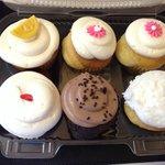 Lemon, Vanilla, Red Velvet, Chocolate, Coconut
