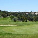 Lage im Golfplatz