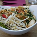 Pad Thai Noodles with Chicken(very tasty��)