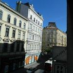 foto  vista da janela do quarto