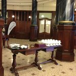 Heritage Foyer set up for a function