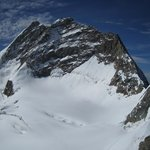 View from the top of the Jungfrau