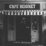 cafe beignet from the outside
