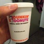 free Dunkin' Donuts breakfast
