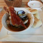 Local Clams - The Broth was to die for