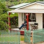 Cabin #2 with verandah.