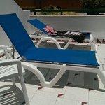Perfect sunbathing spot