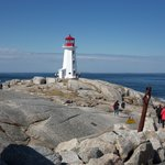 the lighthouse at Peggy's Cove