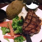Sirloin steak with 2 sides