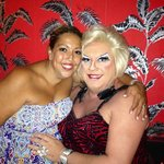 Me and the lovely Ms Rivers xx