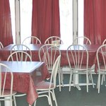 Private seating for parties and large groups with reservation.
