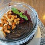 dark chocolate + rosemary ganache