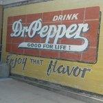 Vintage Dr Pepper sign