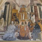 Frescoe of St Benedict Posthomously Conscreting Nuns