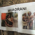 Photo of Amazonian Tribe that Visited this Museum