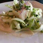 Asparagus salad.  Perfection!
