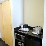 Mini fridge, microwave etc NICE!