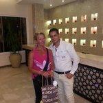 Mohamed best receptionist :)