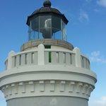Lighthouse of Cabezas de San Juan in Fajardo ,Puerto Rico .