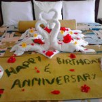If you are celebrating birthday,anniversary, getting married or just on your honeymoon.