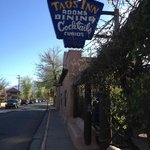 The Taos Inn from the road