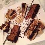 Dessert platter (group meal)