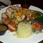 Seafood plater