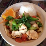 Cashew Nut with Chicken...delicious!!