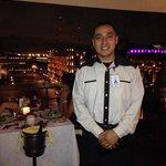 My server Adan at the Gran Hotel
