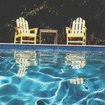 pool + time