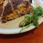 Reuben sandwich! YUMMY!