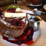 French Toast, Vudu Cafe, Rees St., Queenstown.