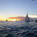 Beautiful sunset in Boracay