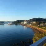 Glorious morning view of Paihia and the hotel