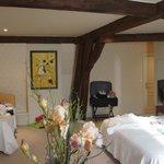 Comfy room at Les Cordliers