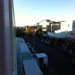 Balcony View Towards Beach