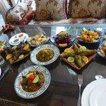la table des légumes