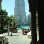 View of Burj Khalifa from the Restaurant