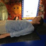 A comfy bed of nails proves the science is correct
