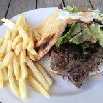 The Rump Steak Burger Special